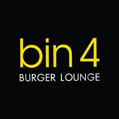 Bin 4 Burger Lounge logo