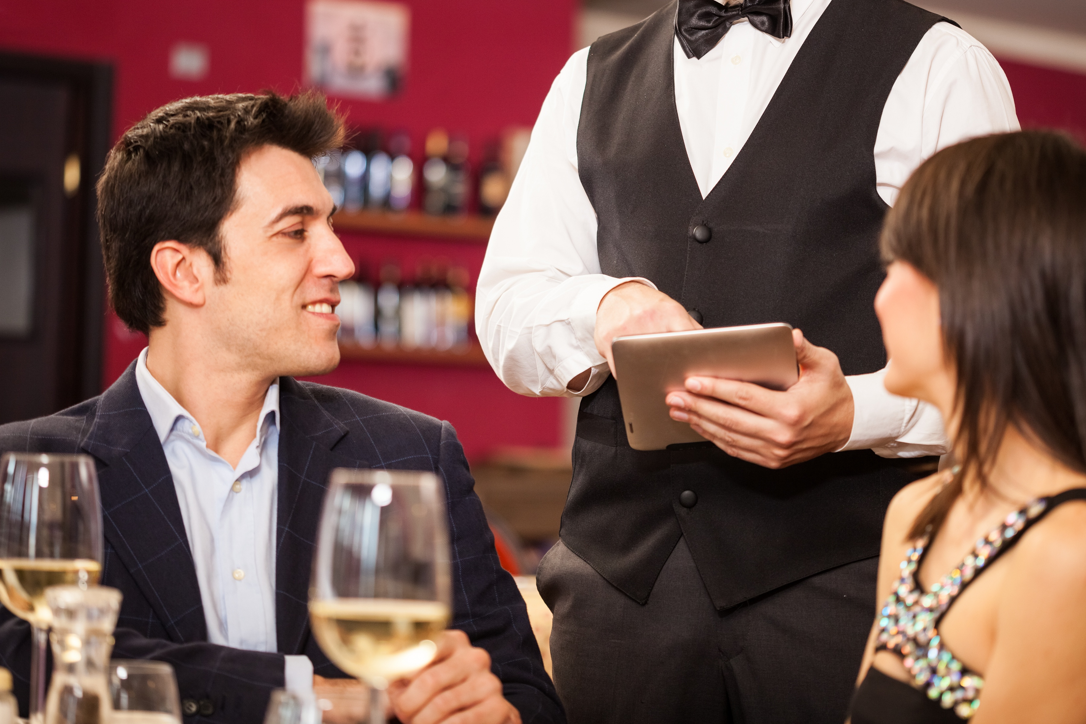 Mobile Ordering at Restaurant